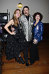 One Life To Live BethAnn Bonner poses with Gary Cosgrove President Imperial Court of New York) and Robin Strasser at ICNY (Imperial Court of New York): Daytime Meets Nighttime Cabaret benefitting LifeBeat: Music Fights HIV and Jan Hus Neighborhood Church, two organizations giving back to the community at November 4, 2011 at the Jan Hus Playhouse Theatre, New York City, New York. (Photo by Sue Coflin/Max Photos)