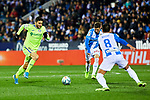Angel Rodriguez of Getafe FC during La Liga match between CD Leganes and Getafe CF at Butarque Stadium in Leganes, Spain. January 17, 2020. (ALTERPHOTOS/A. Perez Meca)