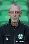 Materiaalverzorger Jan Vijfschaft of FC Groningen,