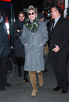 JAN 18 Sharon Stone Seen In NYC