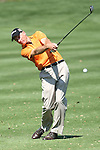 20 March 2010: Jim Furyk, who leads the tournament with 11under, hits his second shot on the par 5 5th hole at the third round of the Transitions Championship Tournament at Innisbrook Golf Resort in Palm Harbor, Florida.