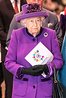 11 March 2019 - London, England - Queen Elizabeth II during a Commonwealth Day Service held at Westminster Abbey. Photo Credit: ALPR/AdMedia