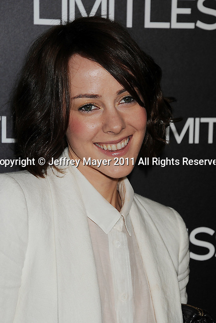 "HOLLYWOOD, CA - MARCH 03: Jena Malone  attends the Los Angeles special screening of ""Limitless"" at ArcLight Cinemas Cinerama Dome on March 3, 2011 in Hollywood, California."