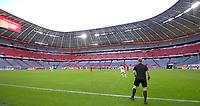 13th June 2020, Allianz Erena, Munich, Germany; Bundesliga football, Bayern Munich versus Borussia Moenchengladbach;  A mostly empty stadium during play