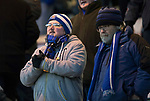 Hamilton Accies v St Johnstone&hellip;09.12.17&hellip;  New Douglas Park&hellip;  SPFL<br />Cold saints fans watch the game<br />Picture by Graeme Hart. <br />Copyright Perthshire Picture Agency<br />Tel: 01738 623350  Mobile: 07990 594431