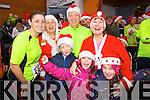 Bernadine Murphy, Julie Byrne, Tony White, Brian White, Megan O'Connor, Mags O'Connor and Rachel O'Connor, who took part in the Santa 5k fun run at Tralee Bay Wetlands on Sunday.
