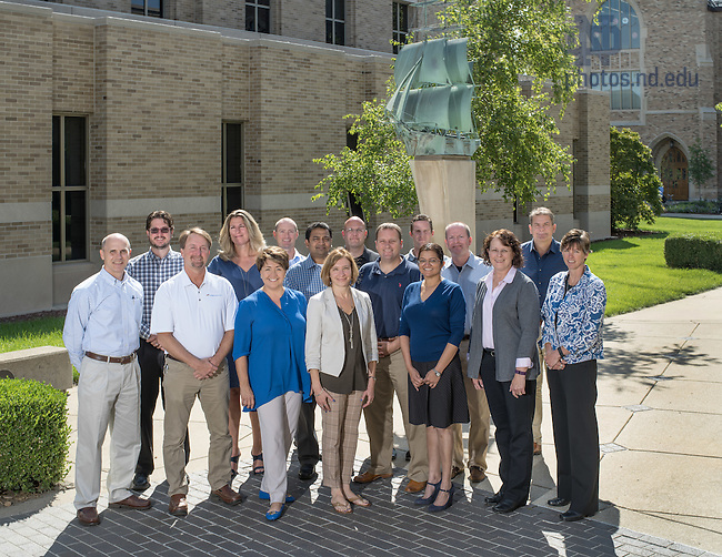 Sept. 15, 2015; EMBA Group (Photo by Matt Cashore/University of Notre Dame)