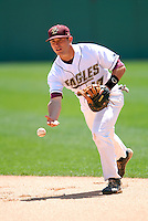 INF Mickey Wiswall of the Boston College Eagles  vs the FSU Seminoles at Shea Field April 7, 2010 in Chestnut Hill, MA (Photo by Ken Babbitt/Four Seam Images)