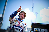 Cool and confidant 4-time champion Jimmie Johnson (#48).