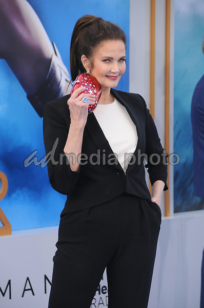 """25 May 2017 - Hollywood, California - Linda Carter. World  Premiere of Warner Bros. Pictures'  """"Wonder Woman"""" held at The Pantages Theater in Hollywood. Photo Credit: Birdie Thompson/AdMedia"""