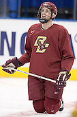 Andrew Orpik - The Boston College Eagles practiced on Wednesday, April 5, 2006, at the Bradley Center in Milwaukee, Wisconsin, in preparation for their 2006 Frozen Four Semi-Final game against the University of North Dakota.