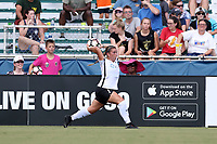 Cary, North Carolina  - Saturday July 01, 2017: Madison Tiernan during a regular season National Women's Soccer League (NWSL) match between the North Carolina Courage and the Sky Blue FC at Sahlen's Stadium at WakeMed Soccer Park. Sky Blue FC won the game 1-0.