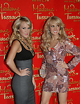 .Three Time Grammy Award-winning Recording Artist Carrie Underwood unveils her wax figure at Madame Tussauds New York on October 22, 2008 in New York City. (Photo by Sue Coflin/Max Photos)