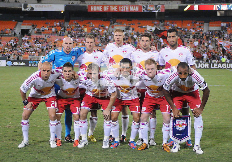 New York Red Bulls starting elven. The New York Red Bulls tied D.C. United 2-2 at RFK Stadium, Wednesday August 29, 2012.