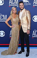 07 April 2019 - Las Vegas, NV - Caroline Bryan, Luke Bryan. 2019 ACM Awards at MGM Grand Garden Arena, Arrivals. Photo Credit: mjt/AdMedia
