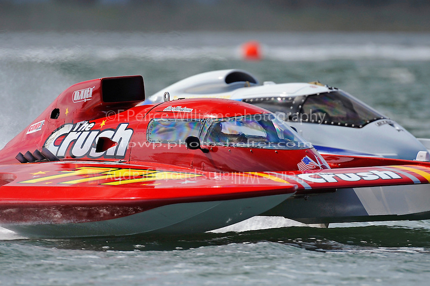 "Burt Henderson, GP-777 ""The Crush"" and Tom Pakradooni, GP-88, ""Rolling Thunder"" (Grand Prix Hydroplane(s)"