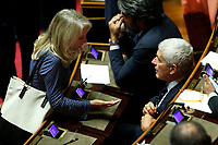 Julia Unterberger and Pier Ferdinando Casini<br /> Rome September 10th 2019. Senate. Discussion and Trust vote at the new Government. <br /> Foto  Samantha Zucchi Insidefoto