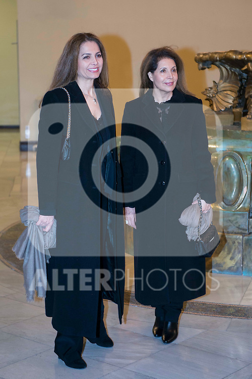 "Some guests attends to the presentation of the last book of the Peruvian writer Mario Vargas Llosa ""Cinco Esquinas"" at CBA Madrid March 07, 2016. (ALTERPHOTOS/BorjaB.Hojas)"