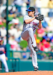 3 March 2010: New York Mets' pitcher Eric Niesen on the mound during a Grapefruit League game against the Atlanta Braves at Champion Stadium in the ESPN Wide World of Sports Complex in Orlando, Florida. The Braves defeated the Mets 9-5 in the Spring Training matchup. Mandatory Credit: Ed Wolfstein Photo