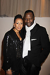 """As The World Turns; Law and Order SVU Tamara Tunie poses with husband Gregory Generet at Hearts of Gold's 16th Annual Fall Fundraising Gala & Fashion Show """"Come to the Cabaret"""", a benefit gala for Hearts of Gold on November 16, 2012 at the Metropolitan Pavilion, New York City, New York.   (Photo by Sue Coflin/Max Photos)"""
