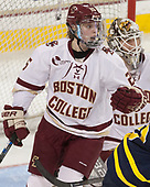 Caroline Ross (BC - 25) - The number one seeded Boston College Eagles defeated the eight seeded Merrimack College Warriors 1-0 to sweep their Hockey East quarterfinal series on Friday, February 24, 2017, at Kelley Rink in Conte Forum in Chestnut Hill, Massachusetts.The number one seeded Boston College Eagles defeated the eight seeded Merrimack College Warriors 1-0 to sweep their Hockey East quarterfinal series on Friday, February 24, 2017, at Kelley Rink in Conte Forum in Chestnut Hill, Massachusetts.