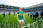 Killian Spillane, Kerry  after the GAA Football All-Ireland Senior Championship Final match between Kerry and Dublin at Croke Park in Dublin on Sunday.