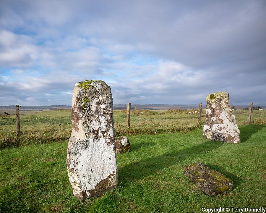 Isle of Skye, Scotland:<br /> Ancient standing stones at Borve