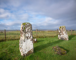 Isle of Skye, Scotland:<br /> Ancient standing stones at Borve