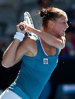 Dinara Safina (RUS) against Barbora Zahlavova Strycova (CZE) in the Second Round of the Ladies Singles. Safina beat Zahlavova Strycova.6-3 6-4..International Tennis - Australian Open Tennis - Wednesday 20 Jan 2010 - Melbourne Park - Melbourne - Australia ..© Frey - AMN Images, 1st Floor, Barry House, 20-22 Worple Road, London, SW19 4DH.Tel - +44 20 8947 0100.mfrey@advantagemedianet.com