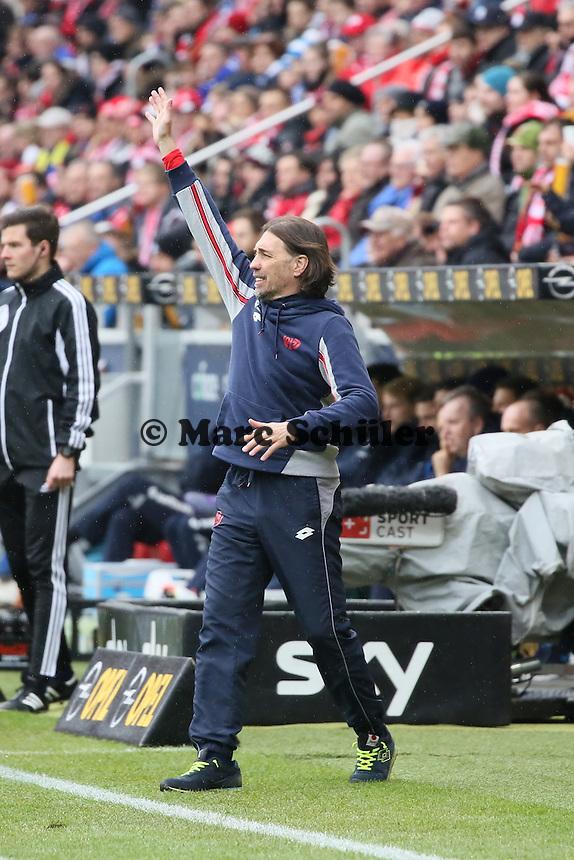 Trainer Martin Schmidt (Mainz) - 1. FSV Mainz 05 vs. SV Darmstadt 98, Coface Arena