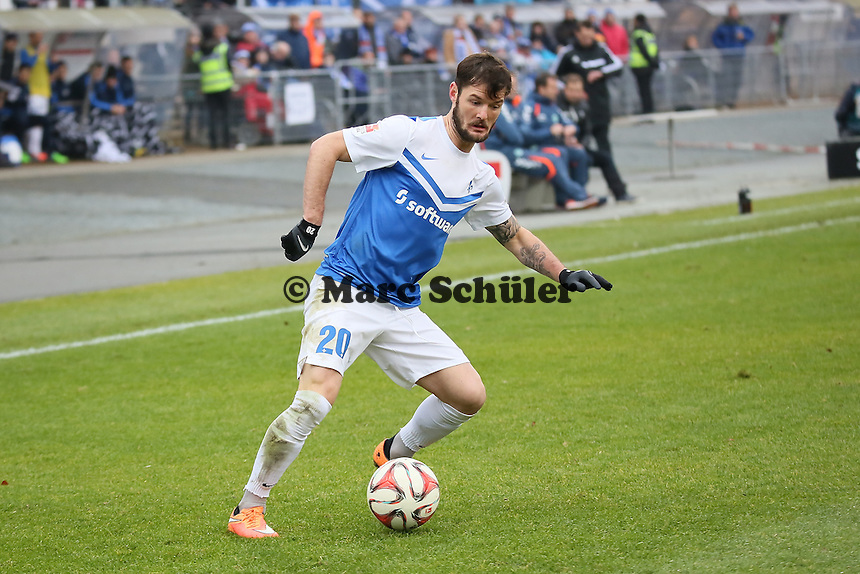Marcel Heller (SV 98) - SV Darmstadt 98 vs. SpVgg. Greuther Fuerth, Stadion am Boellenfalltor
