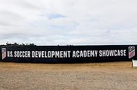 Oceanside, CA - November 05, 2017: The U.S. Soccer Development Academy 2017 U-13/U-14 West Regional Showcase at SoCal Sports Complex.