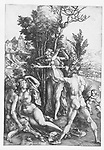 Hercules at the crossroads, Albrecht Dürer, 1496 - 1500