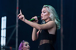 Swedish music Zara Larsson at Dcode music festival in Madrid. September 10, 2016. (ALTERPHOTOS/Rodrigo Jimenez)