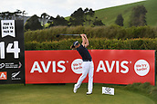 28th September 2017, Windross Farm, Auckland, New Zealand; LPGA McKayson NZ Womens Open, first round;  Australia's Katherine Kirk