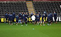 Napoli players training