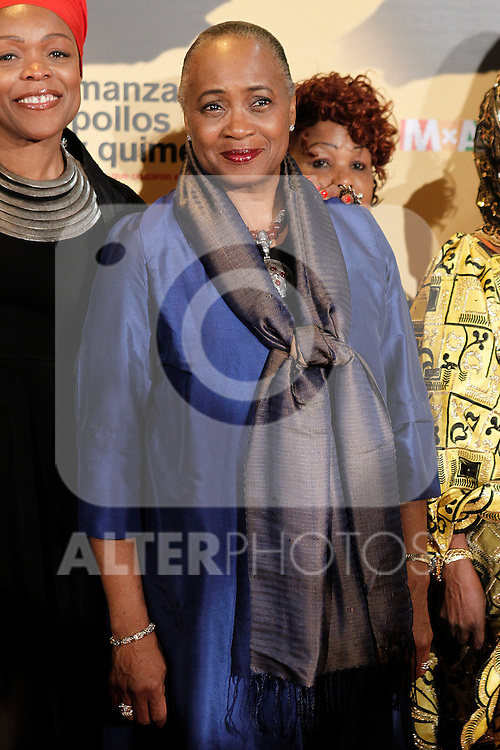 American soprano Barbara Hendricks during the premiere of the documentary film about African women in Spain 'Manzanas, Pollos y Quimeras - Apples, Chicken and Chimeras' by Spanish director Ines Paris.October 29,2013. (ALTERPHOTOS/Acero)