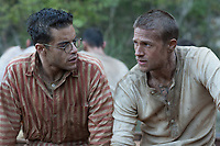 Papillon (2017)<br /> Rami Malek &amp; Charlie Hunnam<br /> *Filmstill - Editorial Use Only*<br /> CAP/MFS<br /> Image supplied by Capital Pictures