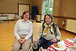 Suzie Leland and Joanna Leland at the coffee morning in st Peters for the RNLI<br /> Picture: www.newsfile.ie