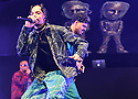 CORAL GABLES, FL - FEBRUARY 22: Gigolo Y La Exce  performs on stage during '2020 Vibra Urbana Music Fest' at Watsco Center on February 22, 2020 in Coral Gables, Florida. ( Photo by Johnny Louis / jlnphotography.com )