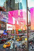 NOVA YORK, EUA, 06.11.2019 - TURISMO-EUA - Vista da Times Square em Nova York nos Estados Unidos nesta quarta-feira, 06. (Foto: Vanessa Carvalho/Brazil Photo Press)