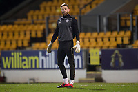 12th February 2020; McDairmid Park, Perth, Perth and Kinross, Scotland; Scottish Premiership Football, St Johnstone versus Motherwell; Mark Gillespie of Motherwell during the warm up before the match
