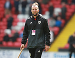 Groudsman John during the championship match at the Bramall Lane Stadium, Sheffield. Picture date 14th April 2018. Picture credit should read: Simon Bellis/Sportimage