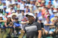 Francesco Molinari (ITA) prepares to tee off the 1st tee to start his match during Friday's Round 2 of the 117th U.S. Open Championship 2017 held at Erin Hills, Erin, Wisconsin, USA. 16th June 2017.<br /> Picture: Eoin Clarke | Golffile<br /> <br /> <br /> All photos usage must carry mandatory copyright credit (&copy; Golffile | Eoin Clarke)