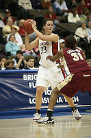 20 March 2006: Jillian Harmon during Stanford's 88-70 win over Florida State in the second round of the NCAA Women's Basketball championships at the Pepsi Center in Denver, CO.
