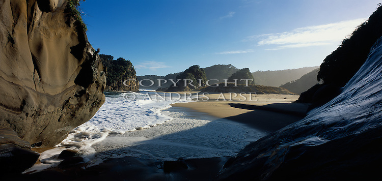 Sealers Beach. Fiordland National Park. New Zealand.