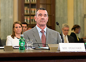 David P. Pekoske appears before the United States Senate Committee on Commerce, Science, and Transportation on his nomination to be administrator of the Transportation Security Administration (TSA) on Capitol Hill in Washington, DC on Wednesday, June 21, 2017.<br /> Credit: Ron Sachs / CNP