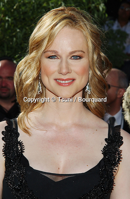 Laura Linney  at the 56th Emmy Awards at the Shrine Auditorium in Los Angeles. September 19, 2004.