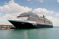 Holland America's m.s. Eurodam, docked at Old San Juan, Puerto Rico.
