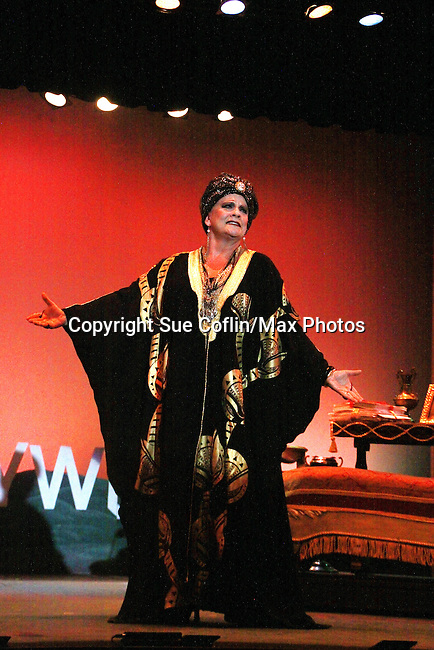 "One Life To Live and Guiding Light Kim Zimmer stars as ""Norma Desmond"" in Sunset Boulevard for several weeks in August at the Barn Theatre in Augusta, Michigan. The photos are from the dress rehearsal. (Photo by Sue Coflin/Max Photos)"